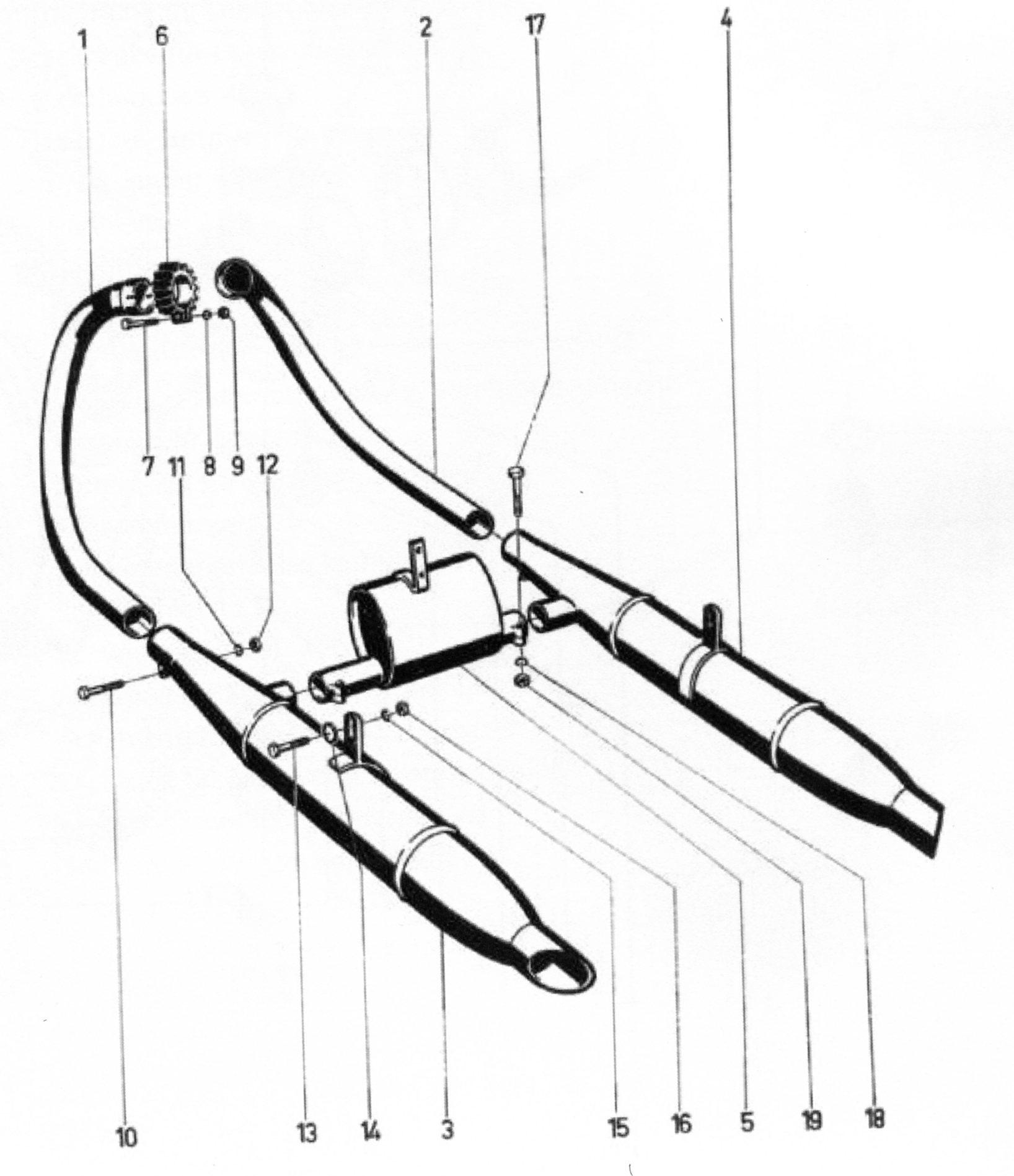 Auspuffrohre/Schalldämpfer