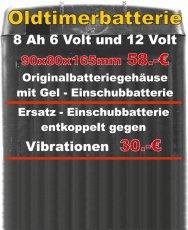 Gel-Longlife Ersatz-Einschubbatterie
